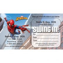 Spider-Man® Swing In Appointment Cards