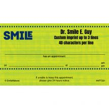 Smile Appointment Cards