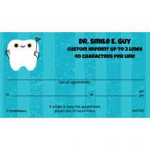 Flag Tooth Appointment Cards