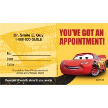 Custom Cars Stay the Course Appointment Cards
