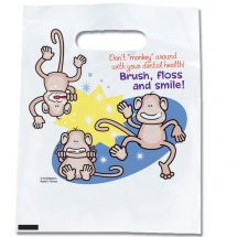 Brush, Floss, Smile Monkeys: Don't Monkey Around Bags