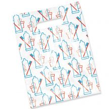 Scatter Print Simple Supplies Bags