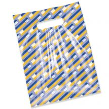 Scatter Print Toothbrush Lines Bags