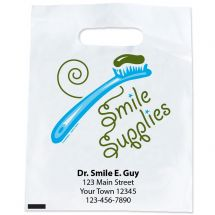 Custom Toothbrush Smile Supply Bags