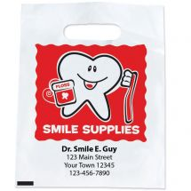 Custom Happy Tooth Smile Supply Bags