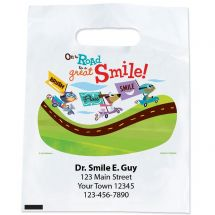 Custom Road to Great Smiles Bags