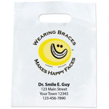 Custom Braces + Happy Faces Bags