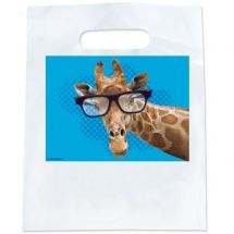 Giraffe with Glasses Bags