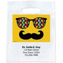 Custom Glasses & Moustache Bags