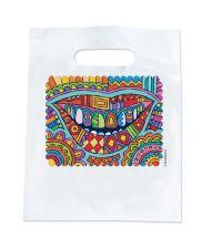 Modern Art Smile Bags
