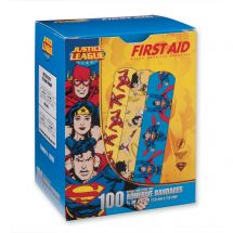 First Aid Wonder Woman, Superman, The Flash Bandages - Case