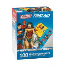 Wonder Woman Superman Flash Bandages