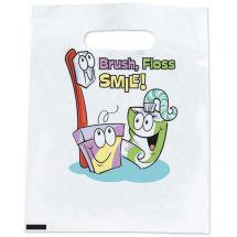 Brush, Floss, Paste Bags