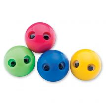 43mm Colorful Wiggle Eye Bouncing Balls