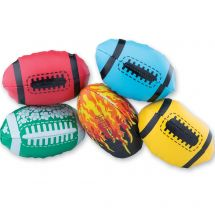 Assorted Foam-Filled Mini Footballs