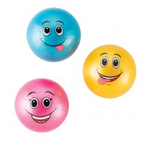 Smiley Air-Filled Rubber Balls