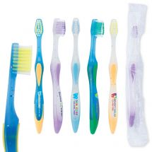 Custom SmileCare Full Color Toddler Premium Toothbrushes