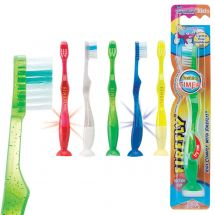 Firefly Youth Flashing Suction Toothbrushes