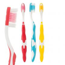 SmileCare Adult Wave Grip Toothbrushes
