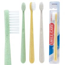 SmileCare Adult Eco-Friendly Toothbrushes