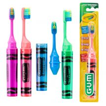 Crayola™ On-the-Go Youth Travel Toothbrushes