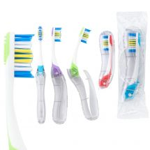 GUM® Folding Travel Adult Toothbrushes