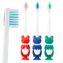 SmileCare Toddler Frog Toothbrushes