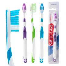 SmileCare Adult Ridgeline Toothbrushes