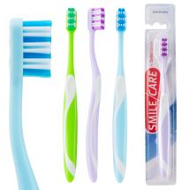 SmileCare Adult Arch Grip Toothbrushes