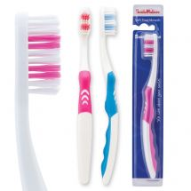 SmileCare Adult Orthodontic V-Trim Toothbrush