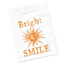 CLEAR Bright Smile Supplies Bags