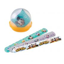 "Mickey Slap Bracelets in 2"" Capsules"