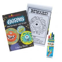 Germ Squad Coloring Value Pack