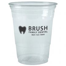 Custom 16 oz Clear Plastic Cups