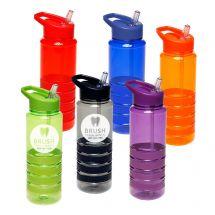 Custom 24 oz Water Bottle with Straw