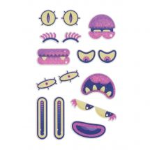 Making Faces StickyLickits Edible Sticker Packs