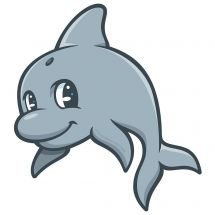 Sea Life Pals Dolphin Wall Decal