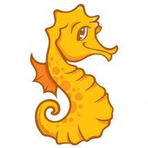 Sea Life Pals Sea Horse Wall Decal