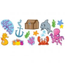 Sea Life Pals Assorted Wall Decals