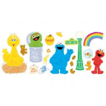 Sesame Street Assorted Wall Decals