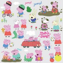 Peppa Pig Assorted Wall Decals