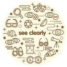 See Clearly Wall Decal