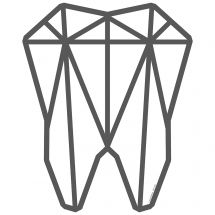 Prismatic Tooth Wall Decal