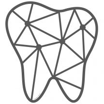 Connecting Tooth Wall Decal