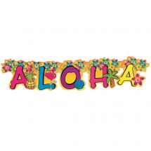 Aloha Tropical Jointed Banner