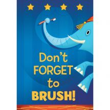 Don't Forget to Brush Poster