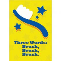 Brush, Brush, Brush Poster
