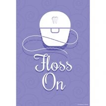 Floss On Poster