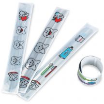 HAPPY TOOTH Slap Bracelets