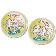 29mm Brush, Floss, Smile Monkey Bouncing Balls